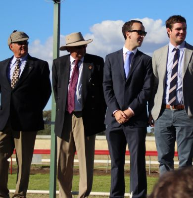 Dapper gents lining up for Best Dressed Male – Moree Picnics